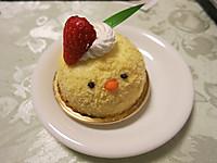 かわいいチーズケーキ